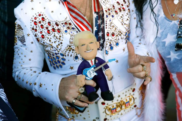 Shrinking QAnon to Merge with Elvis Conspiracy Theory