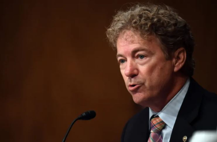 Rand Paul Says Biden's Plan to Raise the Minimum Wage Means He Hates Black Teenagers. Read That Again