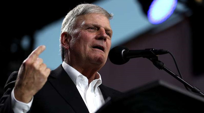 Thousands sign petition to fire Franklin Graham for supporting Trump