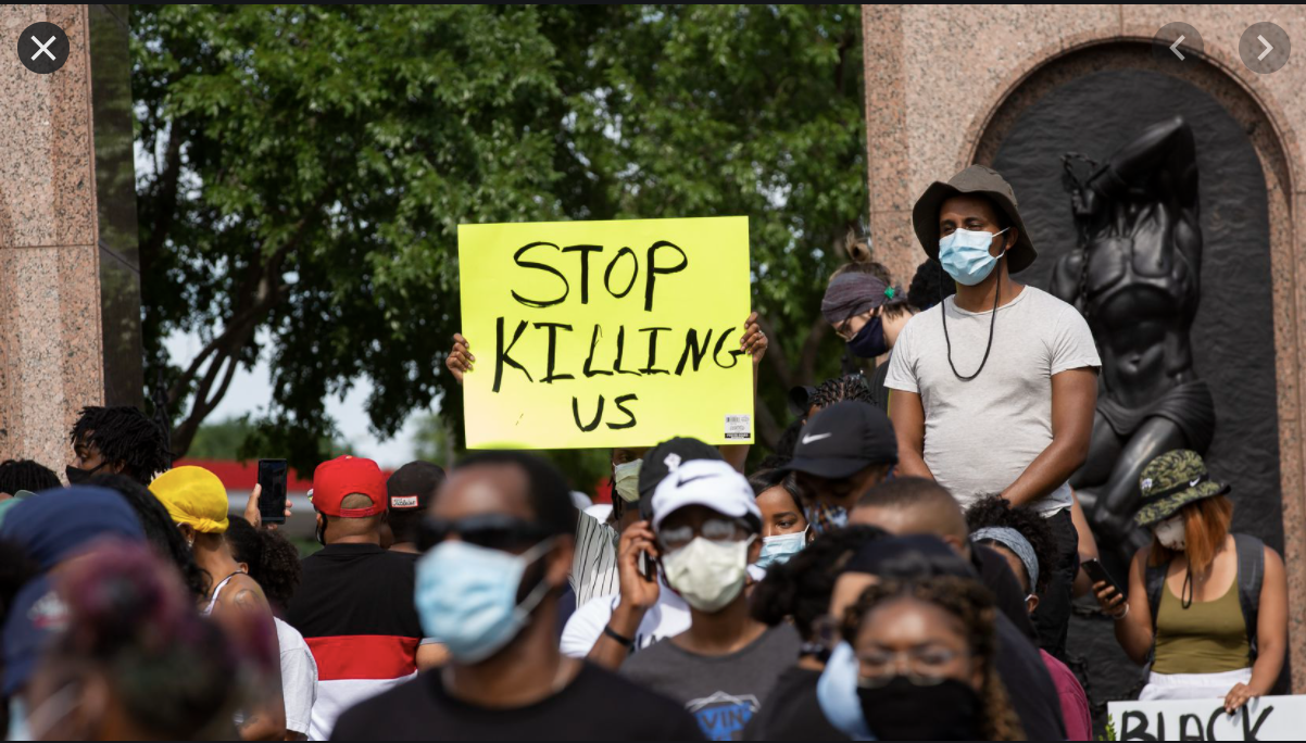 Communities Affected by Police Violence Also Deal with Anger, Grief
