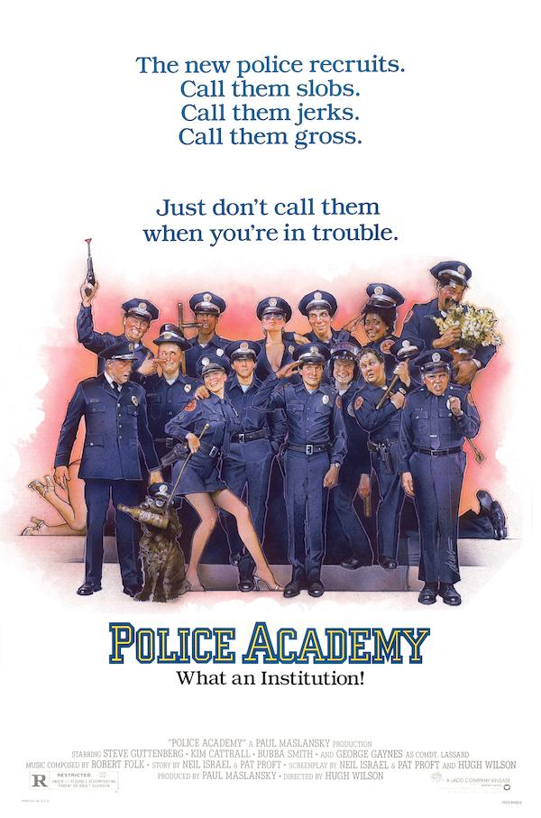 BN&R Wednesday Matinee ~ Police Academy