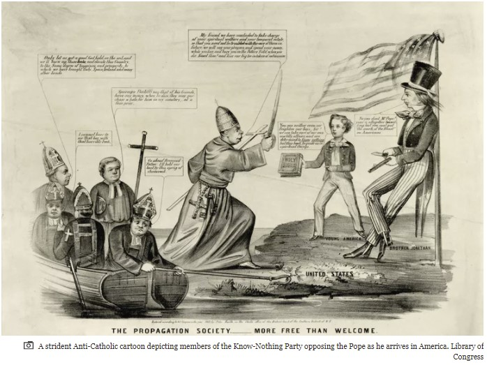 Jesuits Bring Bible Burning to Protestant America!