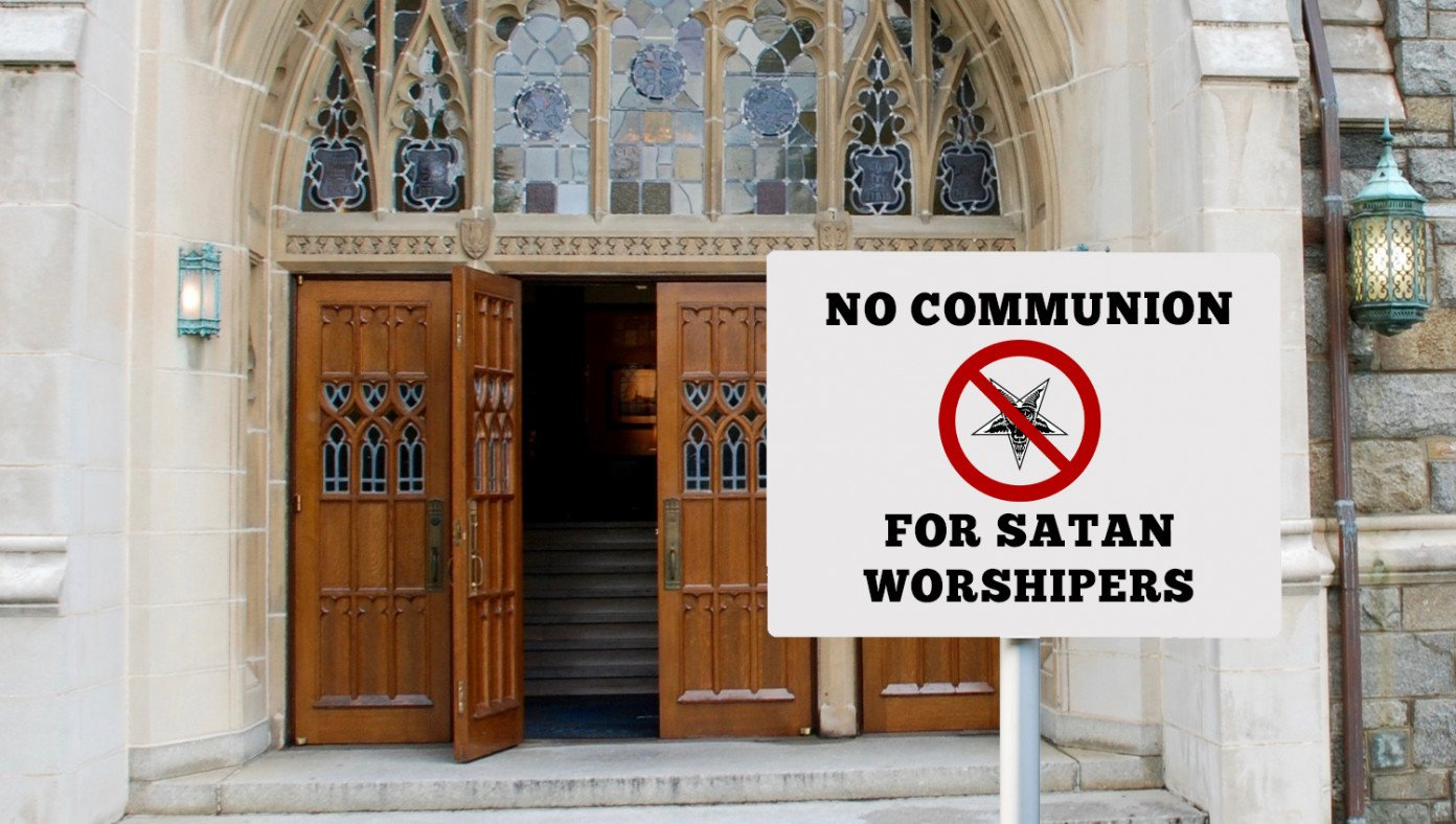 Controversy As Catholic Church Decides To Deny Communion To Satanic Goat Worshipers